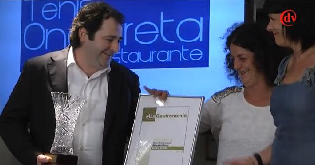 entrega de premios Casa Urola